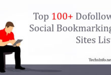 Top Dofollow Social Bookmarking Sites List 2018