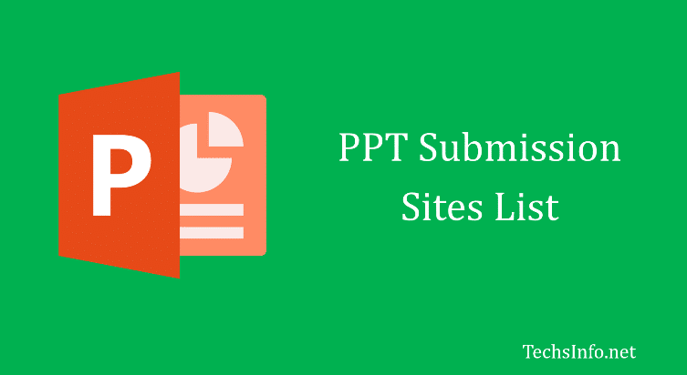 90+ Free PPT/PDF Submission Sites List for SEO in 2019