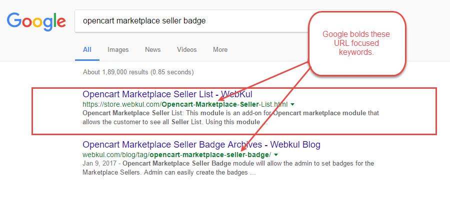 Keep Your URLs SEO Friendly