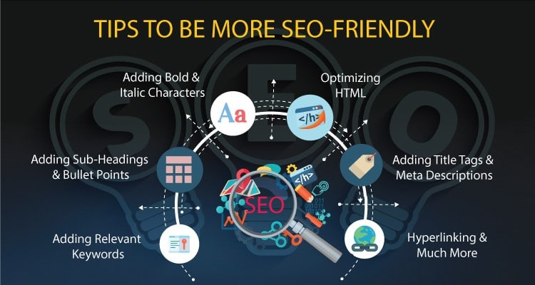 Tips to be more SEO friendly